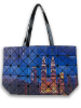 Twin Towers Night View Tote Bag