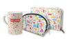 World Wonders Purse Set Design with Mug