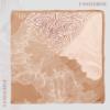 Arizona Square Scarf - Tangerine