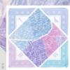 Paris Square Scarf - Icy