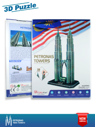 PETRONAS TWIN TOWERS 3D PUZZLE